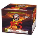 Wholesale Fireworks F5 19-Shot Case 8/1