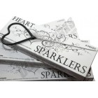 Heart Shaped Wedding Sparklers 8/pk W/ FREE SHIPPING !!