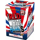 Wholesale Fireworks Red, White and Blue Bombs 12/1 Case