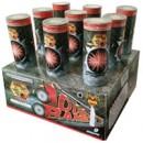 "Wholesale Fireworks Double Barrel 2"" N.O.A.B. Case 4/1"