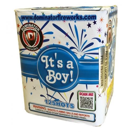 It S A Boy All Blue Gender Reveal Fireworks