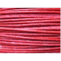 Red Slow Visco Fuse 3.5mm 20ft Roll