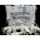 Wedding Confetti Poppers 72ct Box
