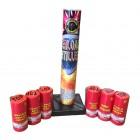 Wholesale Fireworks Overloaded Artillery Shells 12/6 Case