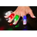 Led Finger Lights Assorted Colors 8pk