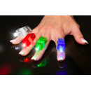 Led Finger Lights Assorted Colors 8pk