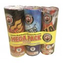 Wholesale Fireworks Mega Fountain 3pk Assortment Case 12/3