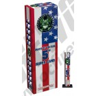 """Wholesale Fireworks Salute To The Flag 5"""" Super Canister Shells Case 24/4"""
