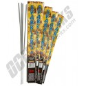 #20 Gold Electric Sparklers 24ct Bundle