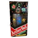 Wholesale Fireworks Pyro Demon Black Box Artillery Shells 6pk Case 12/6