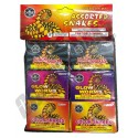 Assorted Color Snakes Poly Bag 6pk