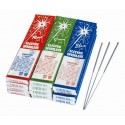 #8 Classic Bamboo Color Electric Sparklers 72/Pk