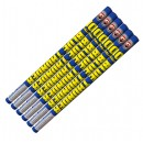 Blue Thunder 10 Ball Roman Candles 6pk