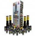 "Excalibur Platinum 5"" Canister Artillery Shells 24ct Kit"