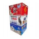 Salute To The Red, White and Blue Assorted 3pc Case