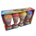 Snow Cone Jr Fountain 4pk Assortment
