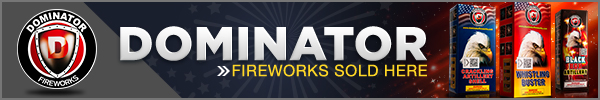 Buy Dominator Fireworks