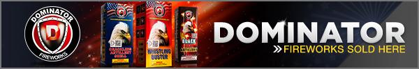 Buy Dominator Fireworks Online