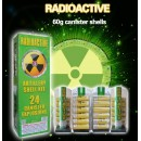 "Wholesale Fireworks Radioactive 5"" Super Canister Shells 60 Gram 24ct Kit Case 4/24"