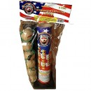 Wholesale Fireworks Dominator Artillery Shells 6ct Value Bag Case 24/6