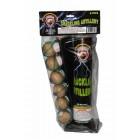 Wholesale Fireworks Dominator Crackling Artillery Shells 6ct Value Bag Case 24/6