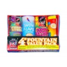 Wholesale Fireworks 4 Inch Fountain Pack Case 48/1