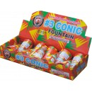 Conic Fountain #3 Medium 12/pk BUY 1 GET 1 FREE !