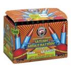 Wholesale Fireworks 50 shot Saturn Missile Battery 48/1 Case