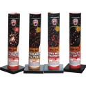 "Wholesale Fireworks 3"" Single Shot Tube With Assorted Effects #500 12/1 Case"