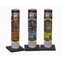 Wholesale Fireworks Air Bomb Single Shot Tube With Assorted Effects #3 72/1 Case
