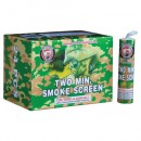 Two Minute Smoke Screen Counter Display Box 24/Ct W/FREE SHIPPING !!