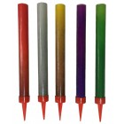 Smokeless Birthday Cake Candle Sparklers (ASSORTED COLORS) 5/Pk W/FREE SHIPPING !!