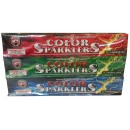 #10 Bamboo Color Sparklers 48/Pk